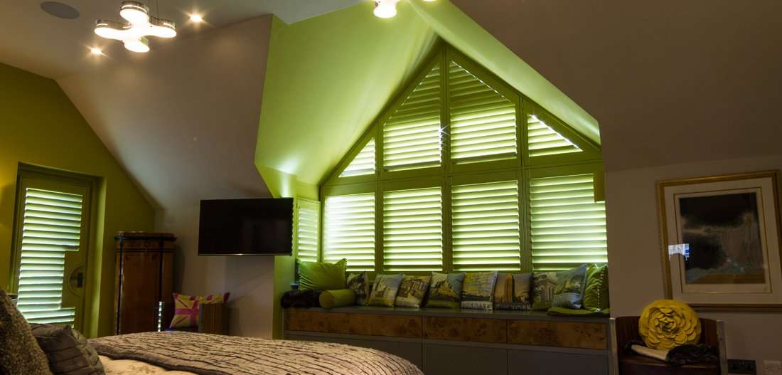 bespoke triangular blinds
