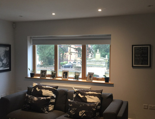 Integrating technology and window blinds: a case study